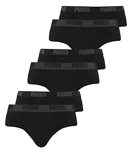 PUMA Herren Basic Brief 2p Black M 521030001 günstig kaufen