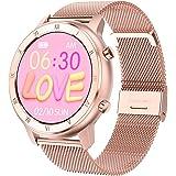 Smartwatch voor dames en heren, activiteitsarmband, smartwatch met stappenteller, calorieën, slaap en hartslag, waterdicht IP