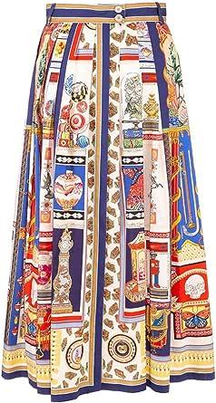 Etro Luxury Fashion Donna 1416344180200 Azzurro Altri Materiali Gonna   Ss21