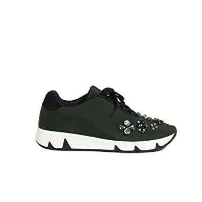 63c7d8ffb Parfois - Footwear Trainers Flat Heel Khaki - Women - Size 35 - Khaki