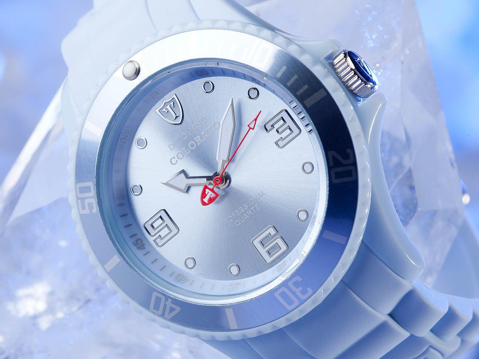 Detomaso DT3007-T – Reloj analógico de Cuarzo para Mujer, Correa