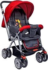 Little Pumpkin Baby Stroller - Pram (Red)