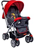 Little Pumpkin - Kiddie Kingdom Baby Stroller and Pram for Baby/Kids (Red)