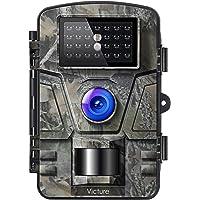 Victure IP66 Caméra de Chasse 12MP 1080P HD Appareil Photo Animaux de Surveillance Infrarouge de Vision Nocturne Grand…