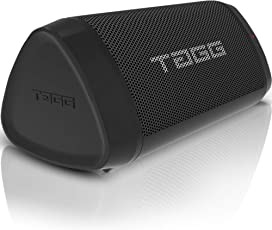 TAGG Metal Sonic Angle 1 IPX5 Water Resistant Portable Bluetooth 2 x 5W Speakers with Mic, 3.5mm AUX Support and Supports Google Assistant/SIRI