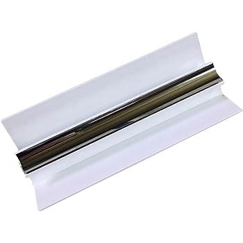 White 10mm End Cap Trim For Shower Wet Wall Panels Bathroom