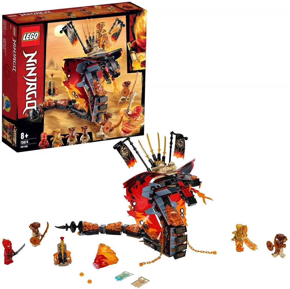 LEGO Zanna Di Fuoco Costruzioni Piccole 1 spesavip