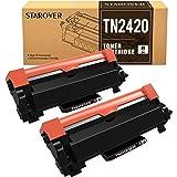 STAROVER TN-2420 TN2420 Cartucce Toner Compatibile per Brother MFC-L2710DN MFC-L2710DW MFC-L2730DW MFC-L2750DW DCP-L2550DN DC