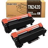 STAROVER TN2420 TN-2420 TN2410 Cartouche Toner Compatible pour Brother MFC-L2710DW DCP-L2530DW HL-L2350DW DCP-L2510D DCP…