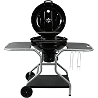 BBQ-Toro Kugelgrill Maple, Holzkohle Grillwagen mit Ablagen, Ø 57 cm