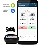 AutoWiz: AutoPulse OBD Bluetooth for KTM Motorcycle (works with Android Phone)- Trip dashboard, Performance Stats, Driving Alerts, Engine Diagnostics