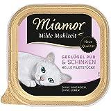 Miamor Milde Mahlzeit Geflügel & Schinken, 16er Pack (16 x 100 g)