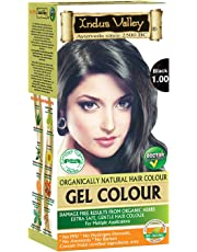 Indus Valley Natural Black Hair Colour- 1.0, 300 gm