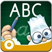 Buchstaben Spielplatz. Die Kinder-App zum Buchstaben lesen und schreiben Lernen.