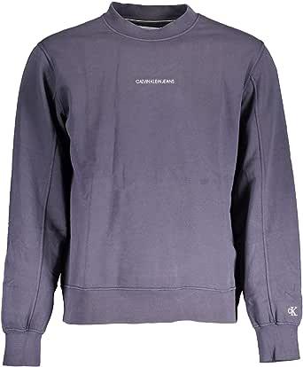 Calvin Klein Jeans Men's Instit Chest Logo Crewneck Sweatshirt