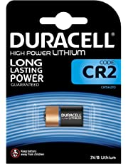 Duracell Specialty Type CR2 Ultra Lithium Photo Camera Battery, Pack of 1