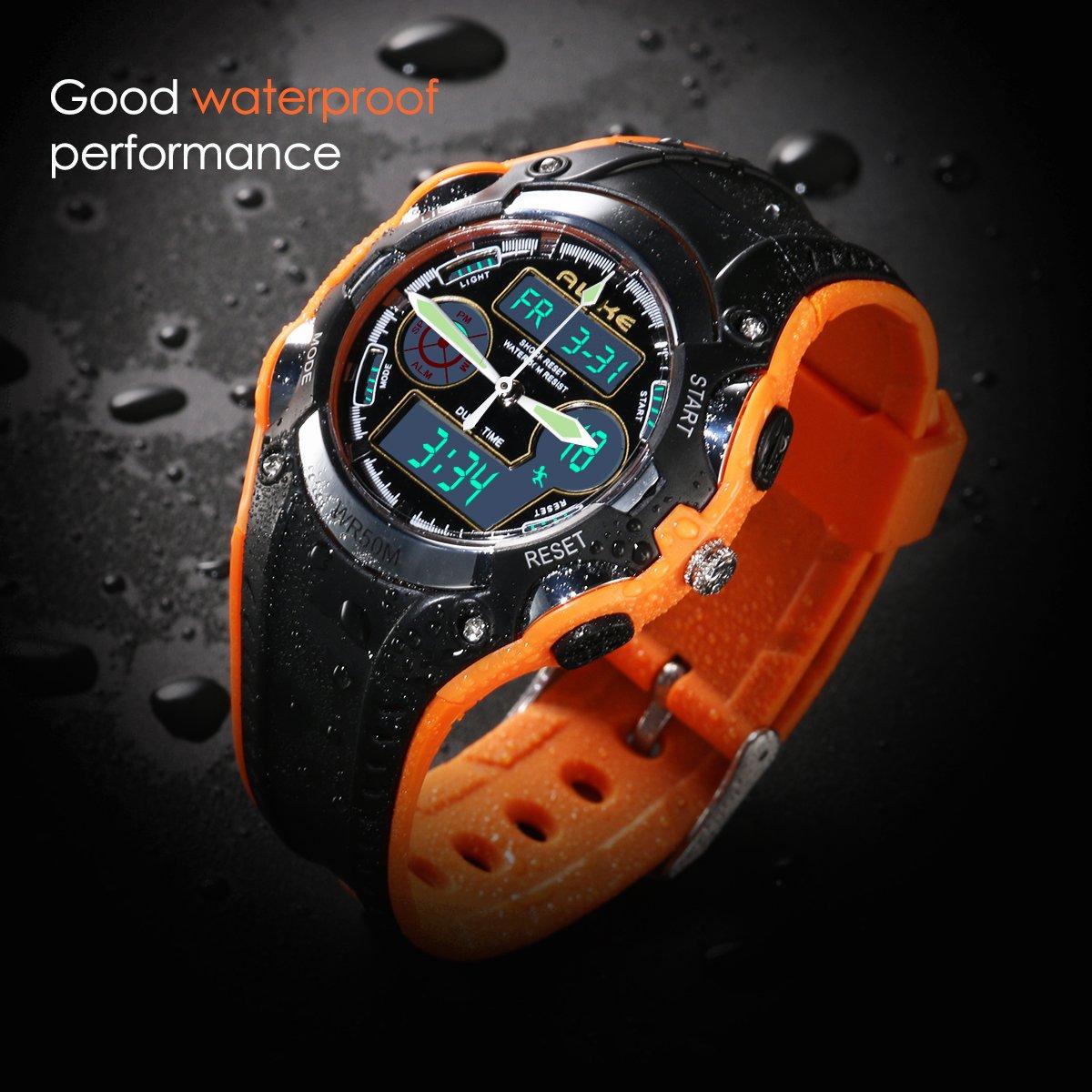 4f0612ef6 Inicio / Estilos / Chico / NICERIO Reloj de pulsera para niños estudiantes  igualmente impermeable niños niñas deporte reloj Digital con alarma  cronómetro