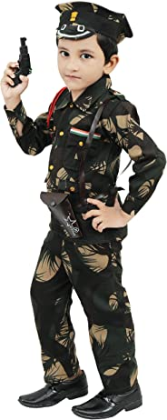 Chandrika Army Costume Dress for Kids (6-7 Years)