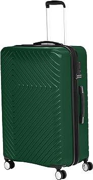 AmazonBasics - Trolley, mit geometrischem Muster, 78cm, Grün