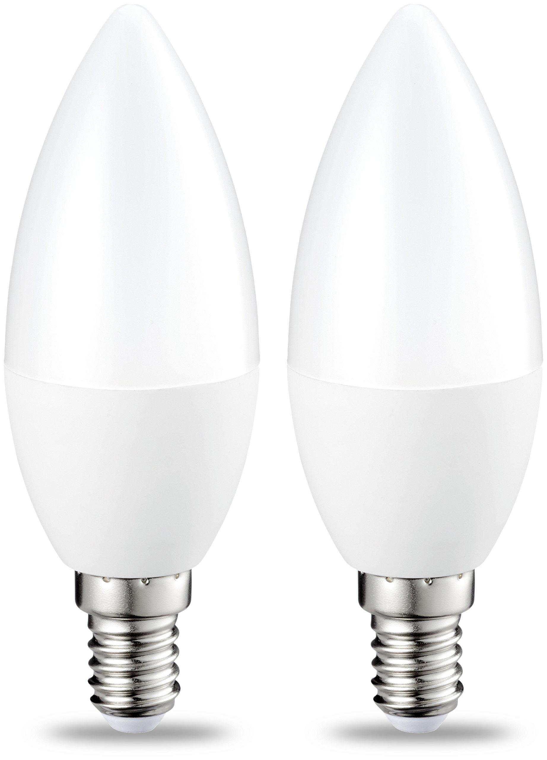 amazonbasics led e14 small edison screw candle bulb 5 5w equivalent to 40w shop24ore. Black Bedroom Furniture Sets. Home Design Ideas