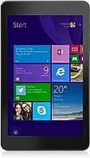 Dell Venue 8 Pro 20,32 cm (8 Zoll) Tablet-PC (Intel Atom Prozessor Z3735G, 1,83GHz, 1GB RAM, 32GB HDD, Win 8 Touchscreen) schwarz