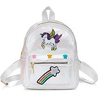WolinTek Zaino Unicorno per Bambini, Mini Unicorn Zaino,Borsa Scuola Ragazza, Unicorn Sacchetto Di Scuola Unicorn Regalo…