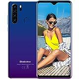 Smartphone Débloqué 4G, Backview®A80 Plus(2021),Ecran 6,49 Pouces, 4Go+64Go Dual SIM Téléphone Portable, Quatre Caméras, Batt