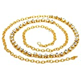 Geode Delight Gold Plated Single Line Kamarband