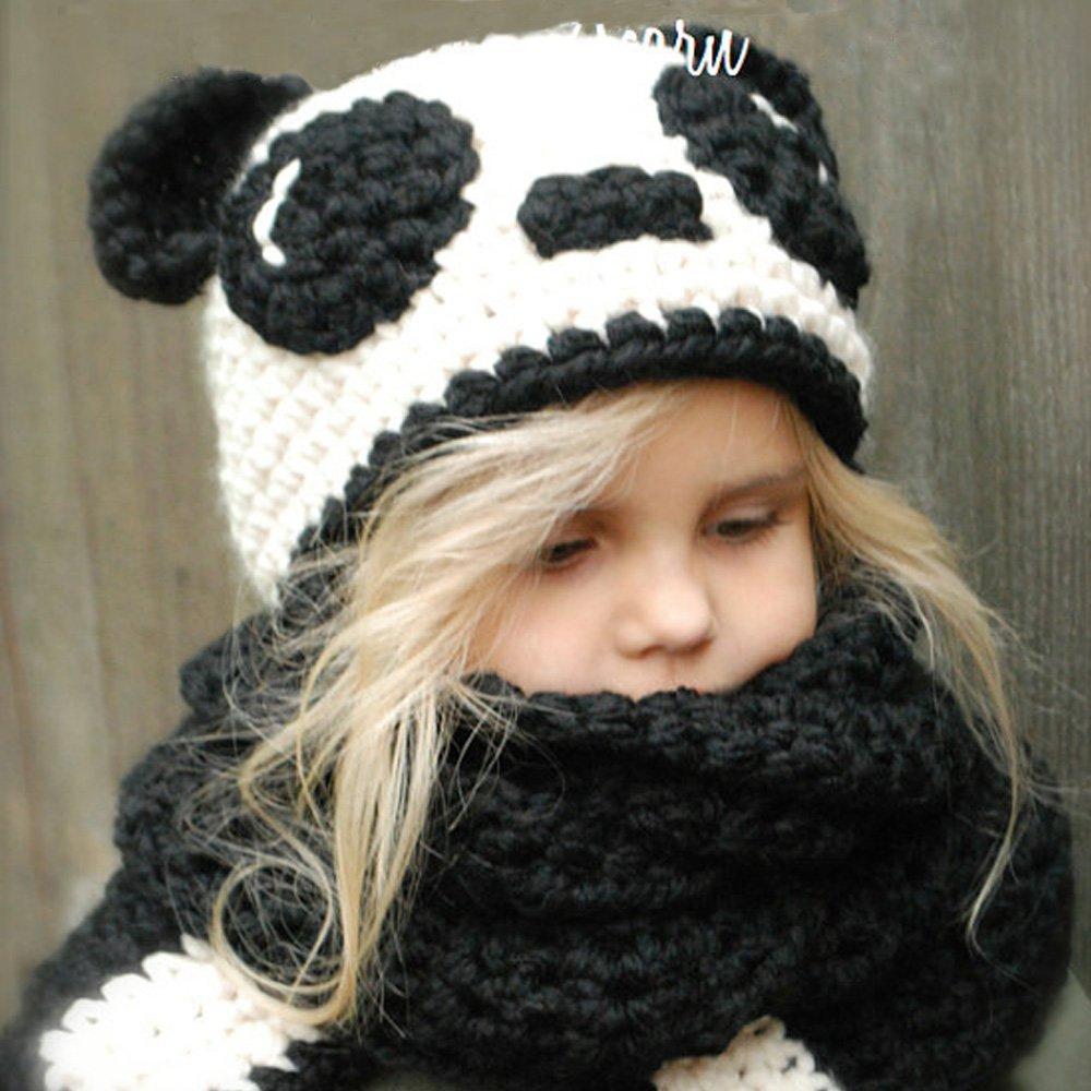 Bonnet Chaud Chapeau Cagoule Renard Bebe Enfant Echarpe Hiver Automne en Laine  Tricote 03c19f01cc0