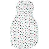 Tommee Tippee Baby Sleep Bag, The Original Grobag Snuggle, Soft Cotton-Rich Fabric, 0-4 m, 1.0 Tog, Cat and Mouse