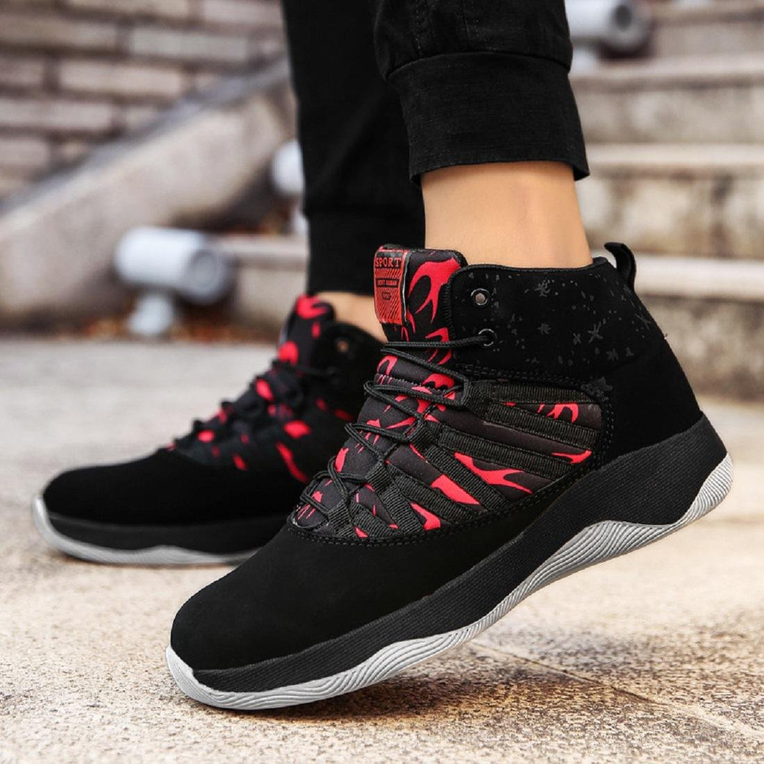 Men's Autumn Winter Fashion Sports shoes Comfortable Keep warm Basketball  shoes Outdoor Running shoes Travel shoes EUR SIZE 39-44: Amazon.co.uk:  Sports & ...