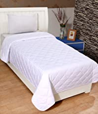 Cozyland Premium Microfibre Single Comforter - White