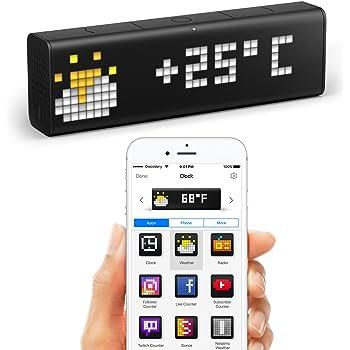 LaMetric Time : horloge Wi-Fi avec applications