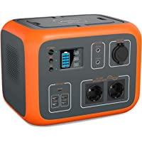 PowerOak Tragbare Powerstation 500Wh mit 230V Steckdose Mobiler Stromspeicher Solar Generator für Reise Camping Garten…