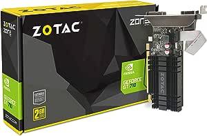 Zotac ZT-71302-20L NVIDIA GeForce GT 710 PCI Express 2.0 2 GB Graphics Card - Multi-Colour