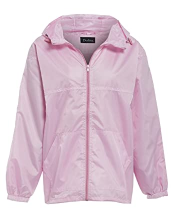 New Women's Raincoat Hooded Lightweight Rain Showerproof Jacket ...