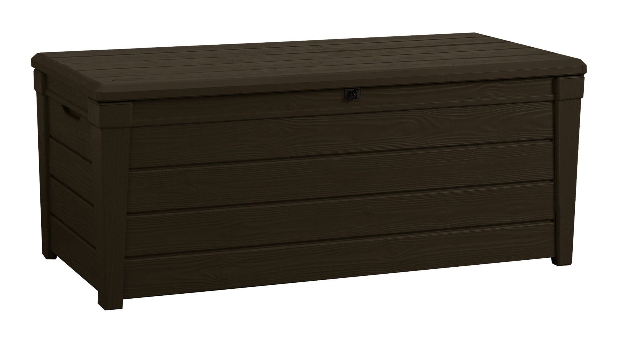 Keter Brightwood Outdoor Plastic Storage Box Garden Furniture 145 X 69 7 X 60 3 Ebay