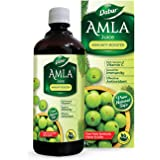 Dabur Amla Juice: Rich Source of Vitamin C and Antioxidants for Immunity boosting |Pure, Natural and 100% Ayurvedic Juice -1L