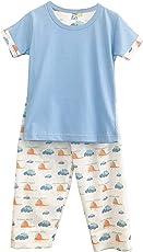 Frangipani Unisex Cotton Chopper Voyage Pyjama Set