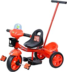 Luusa Tricycle Lovely Bike for Kids(Red)
