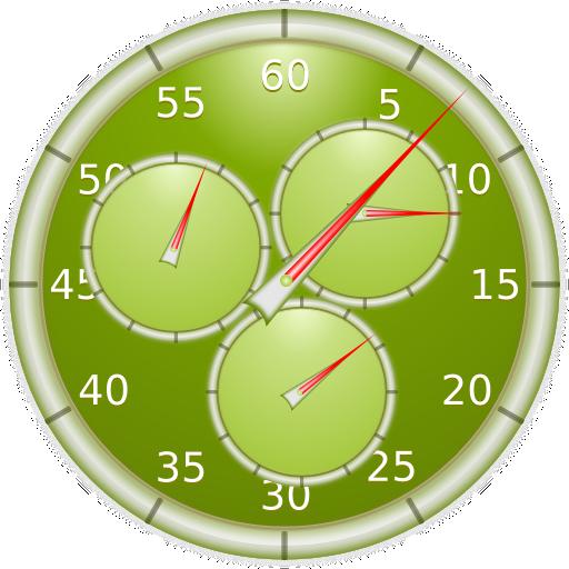 Analog Interval Stopwatch (Coach Wecker)