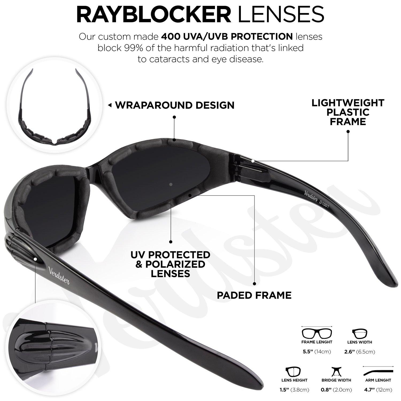 b6dfa6075c Gafas de sol POLARIZADAS VERDSTER TourDePro Para Hombres y Mujeres– Aptos  para Conducir ...