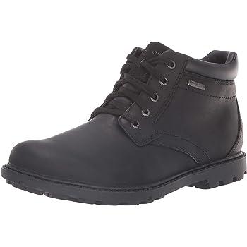 467ecd8d153 Rockport Men's RGD BUC Wp Boot Shoes, 7.5 UK, Black Ii: Amazon.co.uk ...