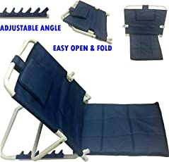 Albio Hospital/ Floor Back Rest For Use On Bed - Powder Coated