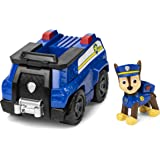 Paw Patrol 6054118 Chase's Patrol Cruiser Vehicle with Collectible Figure, for Kids Aged 3 Years and Over, Multicolored