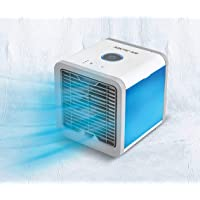 LIVINGTON Arctic Air – Luftkühler mit Verdunstungskühlung – Mobiles Klimagerät mit 3 Stufen & 7 Stimmungslichtern – Mini…