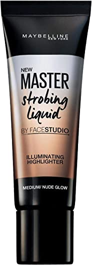 Maybelline New York Face Studio Strobing Cream, Nude, 18ml