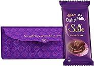 Cadbury Diwali Shagun Envelope with Silk Chocolate Bar, 150g