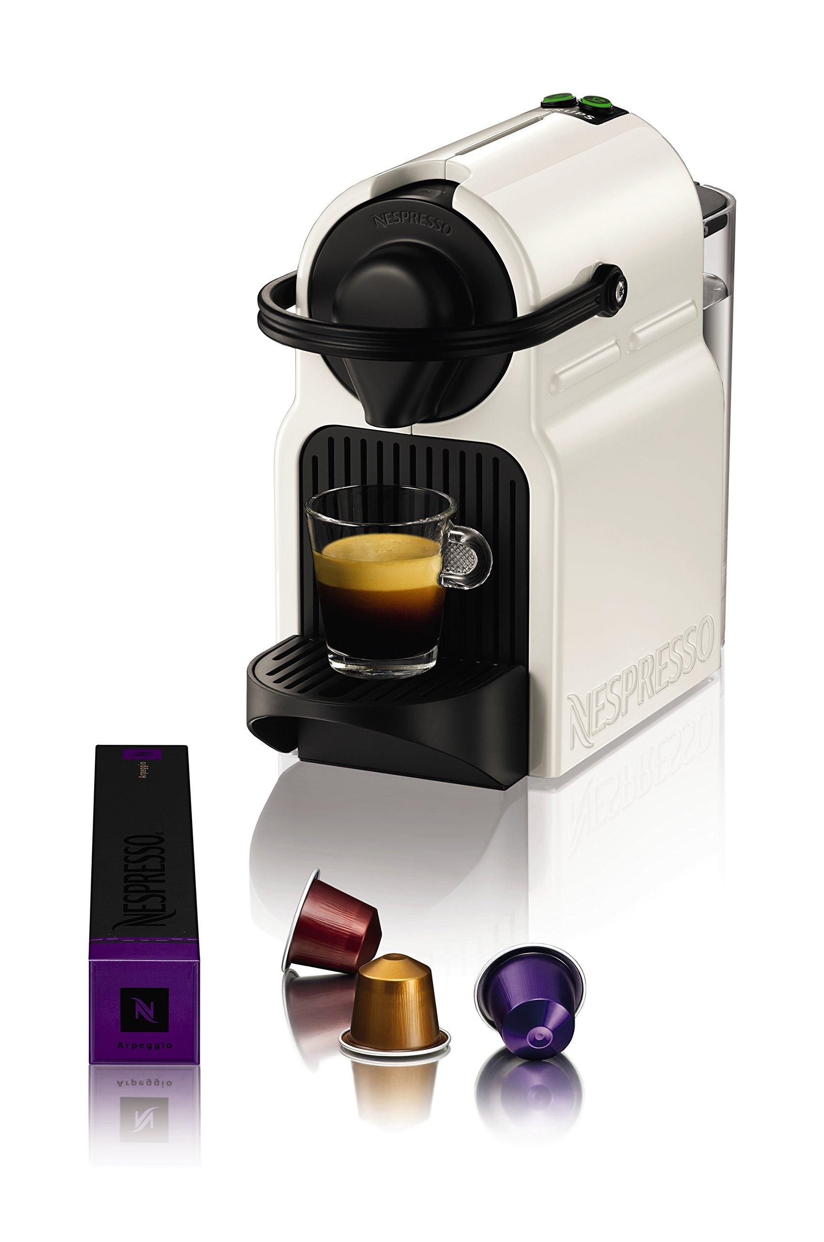 Nespresso Inissia Macchina per caffé espresso, a capsule, 1260 W, 0.7 L, Beige (Vanilla Cream) 5 spesavip