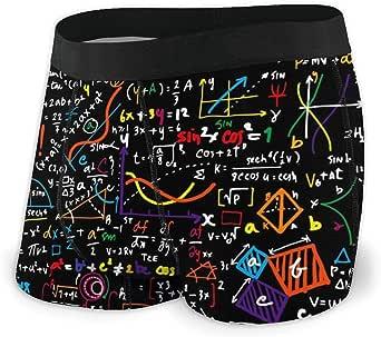 Math Physics Formula Men's Underwear Boxer Briefs No Ride-up Briefs Shorts S-XXL